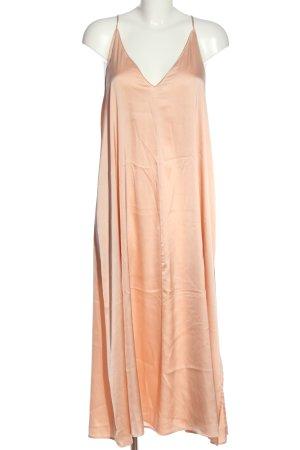 Zara A-Linien Kleid nude Casual-Look