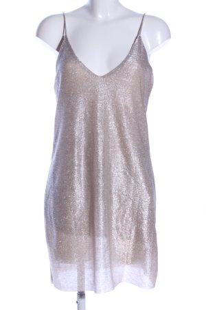Zara Minikleid silberfarben Elegant