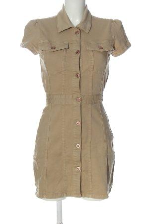 Zara Minikleid braun Casual-Look