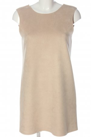 Zara Minikleid creme meliert Casual-Look