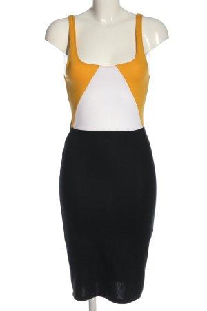 Zara Minikleid Zopfmuster Casual-Look