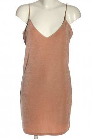 Zara Minikleid nude Casual-Look