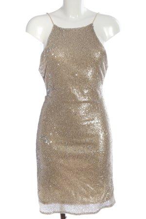 Zara Minikleid goldfarben Elegant