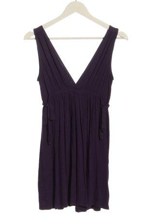 Zara Minikleid lila Casual-Look