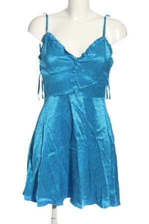 Zara Mini-jurk blauw elegant