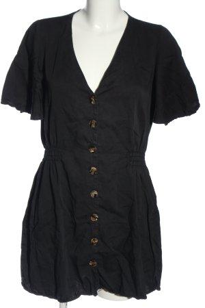 Zara Minikleid schwarz meliert Elegant