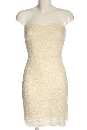 Zara Minikleid creme Elegant