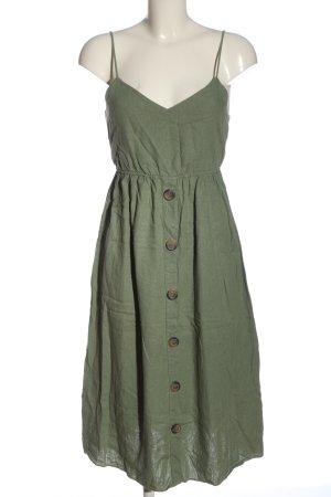 Zara Minikleid khaki Casual-Look