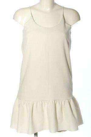 Zara Minikleid wollweiß Casual-Look