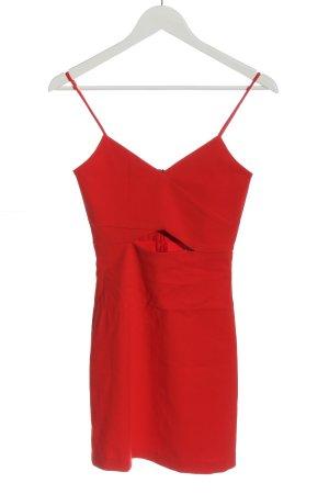 Zara Minikleid rot Elegant