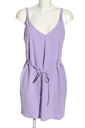 Zara Mini-jurk lila casual uitstraling