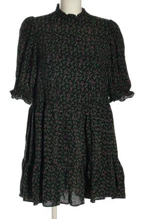 Zara Minikleid Allover-Druck Casual-Look