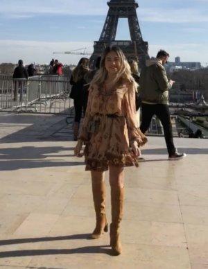 Zara Mini Abito motivo floreale stile casual