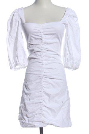 Zara Minikleid weiß Elegant