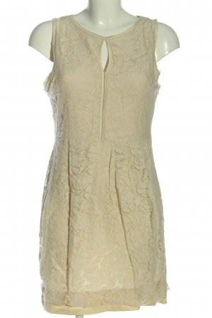 Zara Minikleid wollweiß Elegant