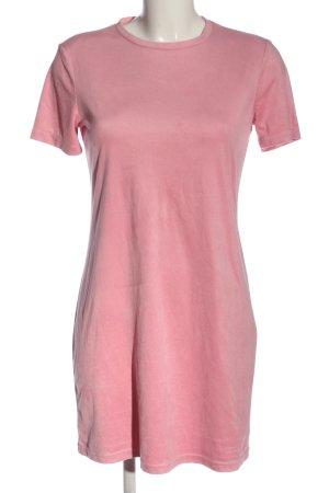 Zara Minikleid pink Casual-Look
