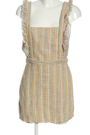 Zara Sukienka mini Siateczkowy wzór W stylu casual