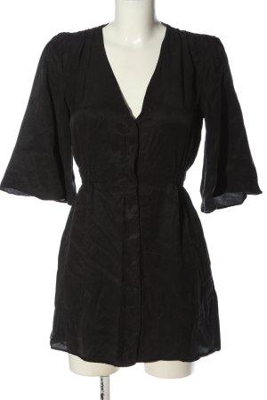Zara Robe courte noir style décontracté