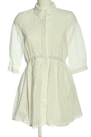 Zara Sukienka mini biały Elegancki