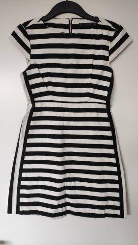 Zara Minikleid Etui Streifen Stripes Baumwolle Cotton LBD Büro Office