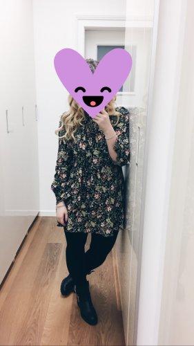 Zara Minikleid floral L Schleife