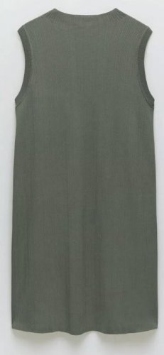 ZARA minikleid grün Khaki gr xs s neu mit Etikett
