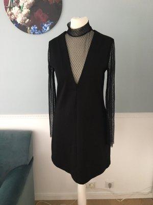 Zara Minikleid mit Netzspitze/Mesh