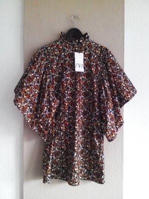 Zara Minikleid mit weiten Ärmeln, Größe S, neu