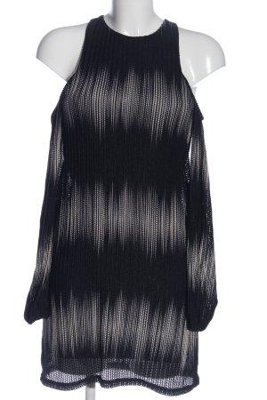 Zara Minikleid schwarz Farbverlauf Elegant