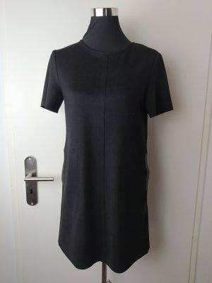 ZARA Minikleid Shift-Kleid schwarz Sz S