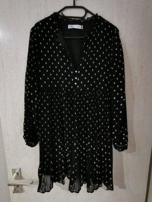 Zara Minikleid Tunika Gr. S Schwarz NEU
