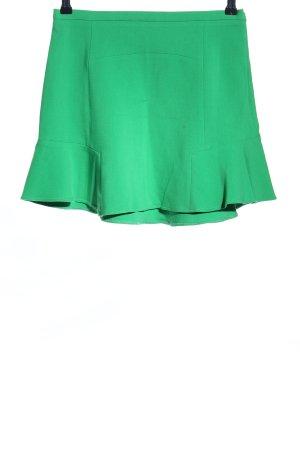 Zara Minirock grün Casual-Look