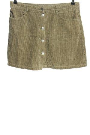Zara Minirock khaki Casual-Look