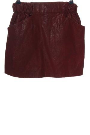 Zara Minirock rot Casual-Look
