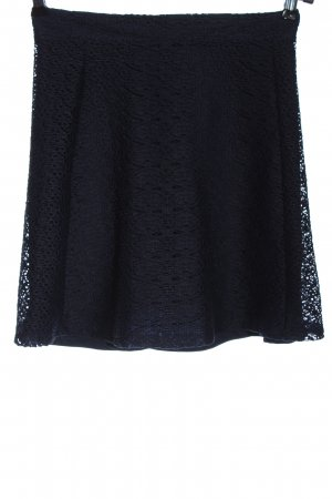 Zara Minirock blau Casual-Look