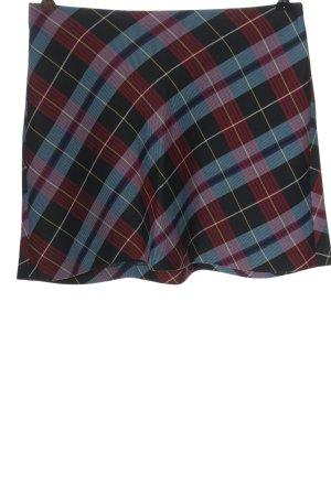 Zara Spódnica mini Wzór w kratkę W stylu casual