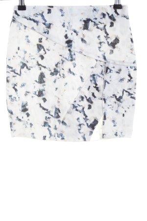 Zara Minirock abstraktes Muster Casual-Look