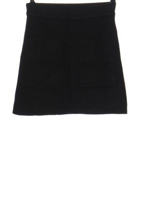 Zara Spódnica mini czarny W stylu casual
