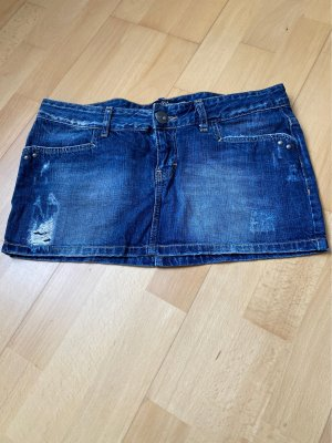 TRF Denim Jeans a 3/4 blu