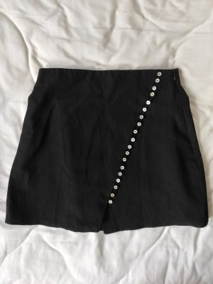 Zara Spódnica mini czarny