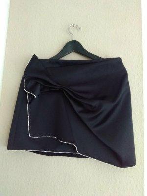 Zara Minirock mit Schleife, Größe M, neu