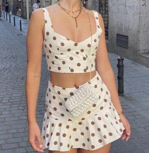 Zara Minirock und top