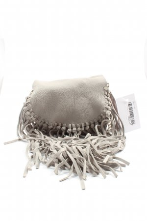 Zara Minitasche hellgrau Casual-Look