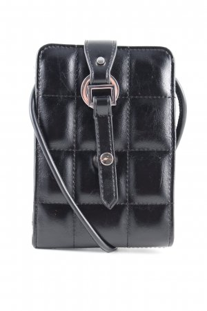 Zara Borsetta mini nero motivo trapuntato stile casual