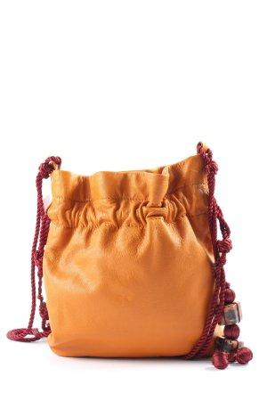 Zara Minitasche hellorange Casual-Look