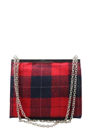 Zara Mini Bag red-blue allover print casual look