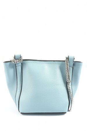 Zara Minitasche blau-schwarz Casual-Look