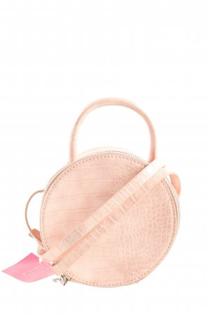 Zara Minitasche pink Allover-Druck Casual-Look