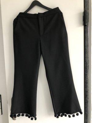 ZARA modische Hose in schwarz