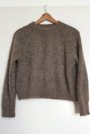 Zara Jersey de lana multicolor